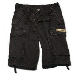 US Paratrooper Shorts Svart
