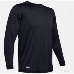 Under Armour Tech Long Sleeve T-Shirt, Svart