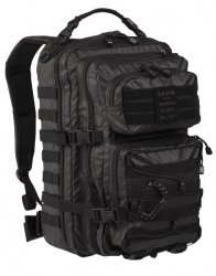 US Assault Pack Tactical, Svart