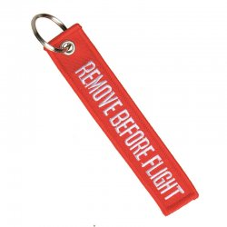 "Nyckelring ""Remove Before Flight"""