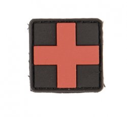 3D Patch First Aid Kit PVC, svart, liten