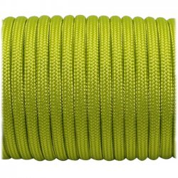 Paracord 30 meter, lime