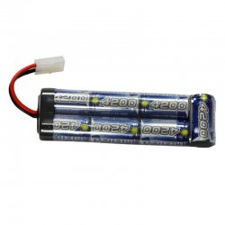 Batteri 8.4V 4200mAh NiMH Intellect Large