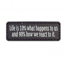 Morale Patch, Life is 10% what happens