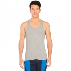 Jockey Racer Back Tank Top, Grå