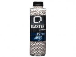 Airsoft BB, Q Blaster, 0,25g, 3300 kulor