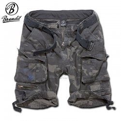 Brandit shorts savage vintage dark camo