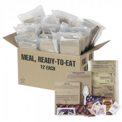 Amerikansk MRE Ready to Eat Ration