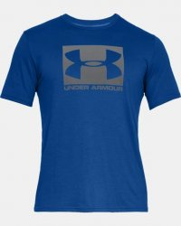UA Boxed Sportstyle Short Sleeve T-Shirt blå