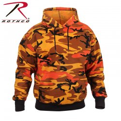 Rothco hoodie savage orange camo