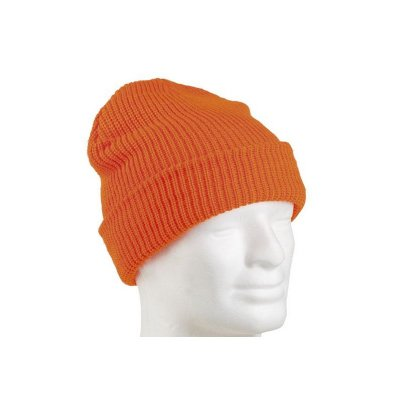 Watch cap acryl, orange