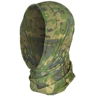 Multifunktionell Headscarf, multicam