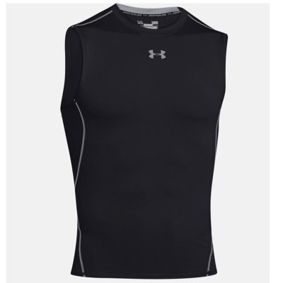 Under Armour HeatGear Compression Tank Top, Svart