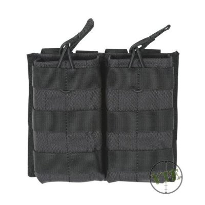 M4/M16 Open Top Mag Pouch w/ Bungee System, Double
