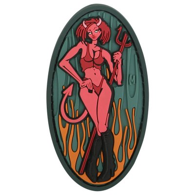 Maxpedition Morale Patch, Devil Girl