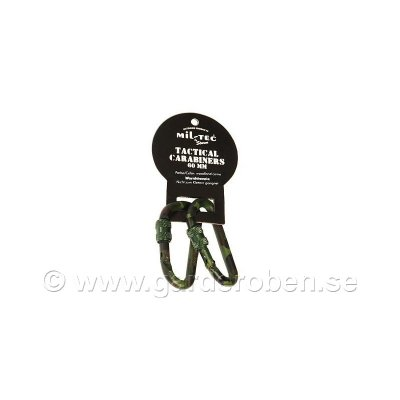 Karbinhakar 2-pack woodland 60mm