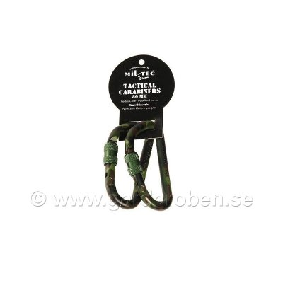Karbinhakar 2-pack woodland 80mm