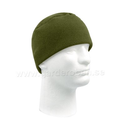 Microfleece Watch Cap Olivgrön