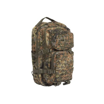 Mil-Tec Assault Pack Laser Cut Flecktarn Small