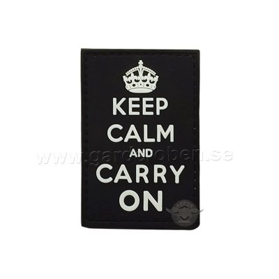 Patch PVC, Keep calm and carry on