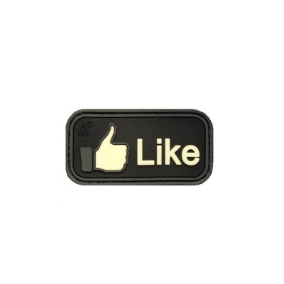 "Cop Patch ""LIKE"""