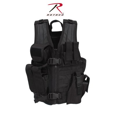 Rothco barn tactical väst, svart