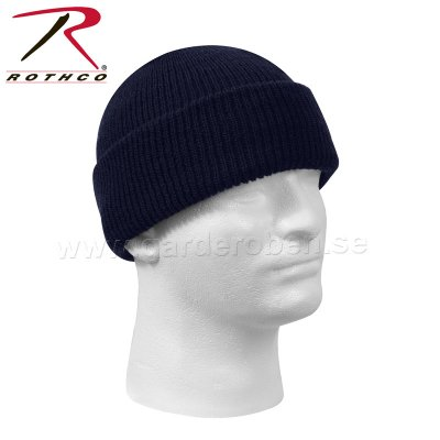 Rothco watch cap ylle, marinblå