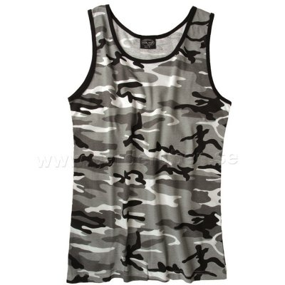 Tank top US, city kamouflage